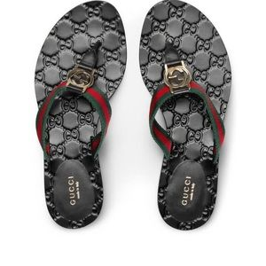 GG Gucci Thong sandals